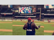 Vince Wilfork and his wonderful overalls made a surprise ... Arizona Cardinals Football Game Radio