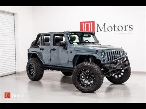 jeep wrangler grey 2015 2015 jeep wrangler unlimited sport for sale in tempe az