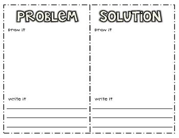 Problem Solution Outline Template by Problem Solution Writing Printable By Jeremie Tharp Tpt