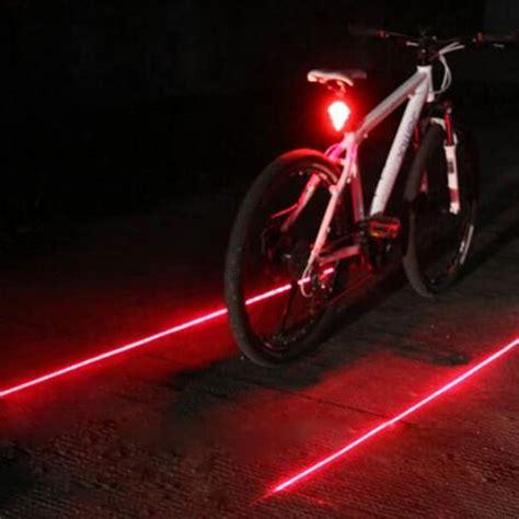 5 Led Rear Bike Light cycling bike light rearlight taillight safety warning 5led