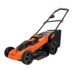 black decker mower black decker 20in cordless lawn mower cm2040