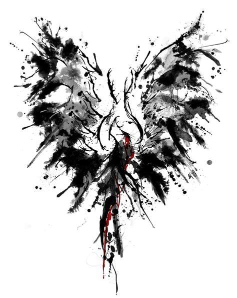 phoenix tattoo white ink free illustration phoenix ink tattoo wing free image