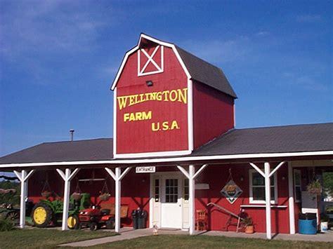what s in a name wellington centre visiting wellington farm usa in grayling mi grayling visitor s bureau