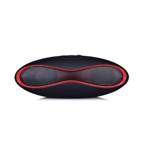 Speaker Bluetooth Portable Wireles Ibox Mini X6 Rugby Berkualitas hifi x 6 mini sound rugby football wireless bluetooth speaker aux usb portable audio player