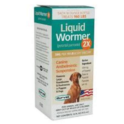 liquid dewormer for dogs liquid wormer 2x for dogs 2 oz big s tack vet supplies