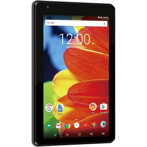 rca android tablet rca voyager 7 quot 16gb tablet android 6 0 marshmallow charcoal ebay