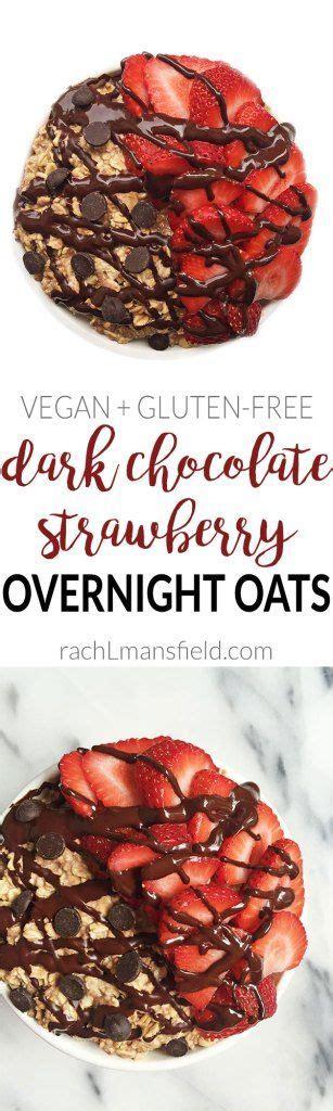 Rach Choco Jar chocolate strawberry overnight oats rach l