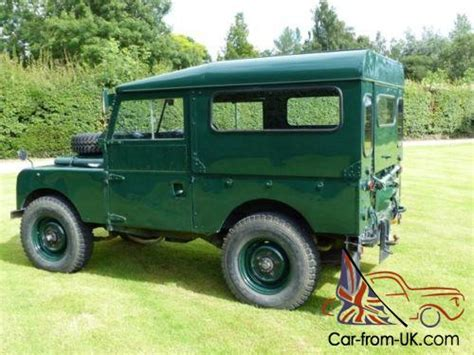 land rover series 1 hardtop 1957 land rover series 1 one ex mod 88 hardtop