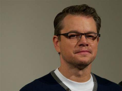 Closeted Actors by After Backlash Matt Damon Defends Saying Actors