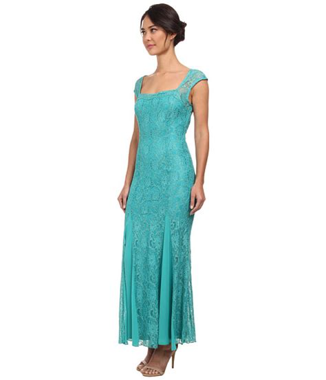 Ribbone Maxy Dress Jumbo Lacoste alejandra sky bria ribbon tie back dress jade 6pm