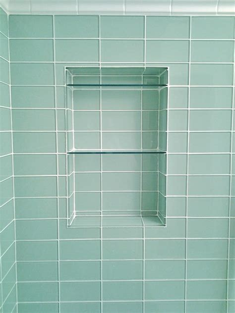 glazed bathroom tile lush 3x6 glass subway tile installations