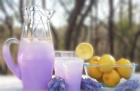 lavender lemonade recipe good living guide