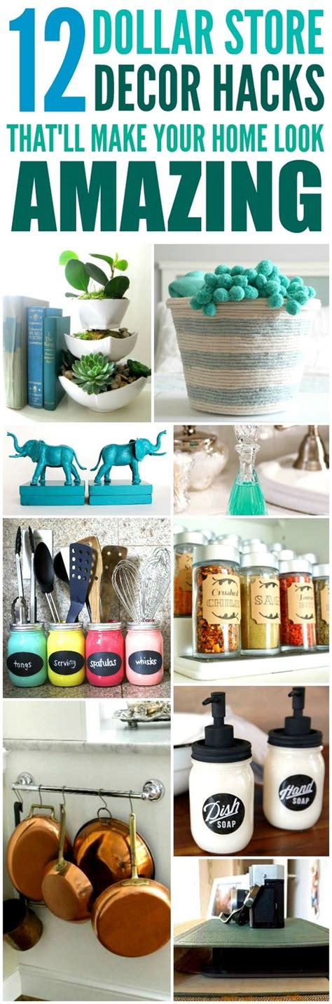 home decor hacks 12 cheap and easy dollar store decor hacks that ll make