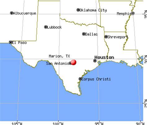 marion texas map opiniones de marion texas
