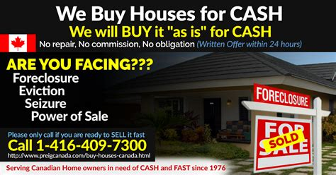 we buy houses canada toronto real estate investment club meeting preig canada