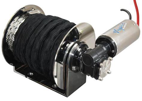 boat drum winch installation viper 1000 anchor winch pro series ii