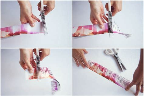 How To Make Your Own Rolling Paper - 4 once it s all cut take your wooden skewer and the