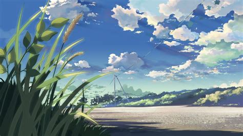 anime girl scenery wallpaper anime scenery wallpaper 7976 1920 x 1080 wallpaperlayer com