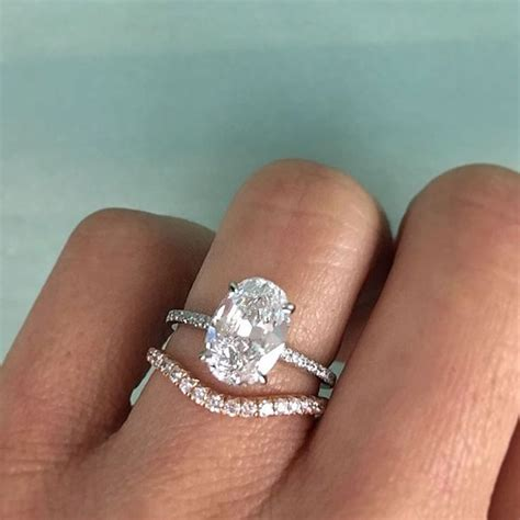 best 25 curved wedding band ideas on unique