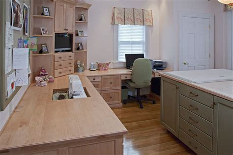 Sewing Room Furniture by Custom Made Maple Sewing Room By Brunarhans