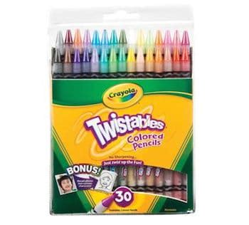 crayola twistables colored pencils best colored pencils for coloring books diycandy