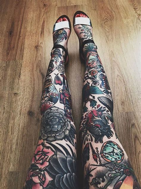 full leg tattoos 1000 ideas about leg tattoos on leg