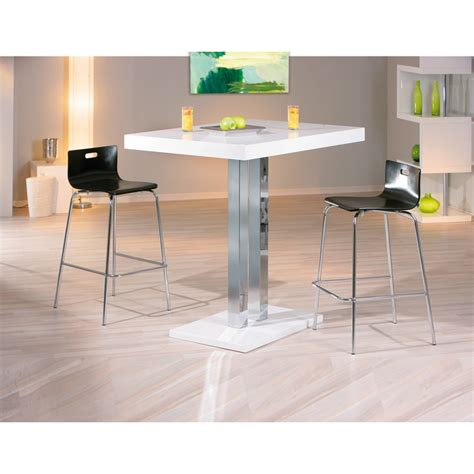 tavolo alto da bar tavolo alto da bar contract moderno in legno e metallo