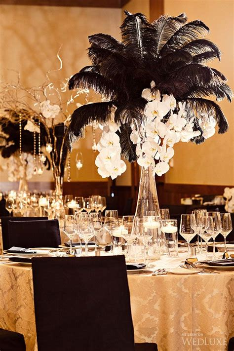 black and white centerpieces ideas sonal j shah event consultants llc black and white