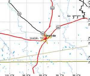 uvalde tx 78801 profile population maps real
