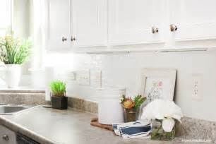 self adhesive backsplash self adhesive kitchen backsplash how to nest for less