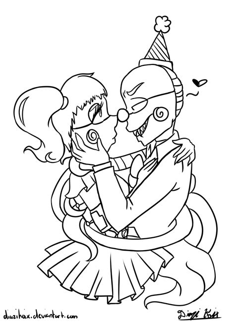 coloring pages baby sister baby fnaf sister location free coloring pages