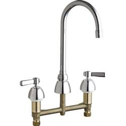 chicago faucet kitchen chicago faucets 786 e3 369abcp universal polished chrome