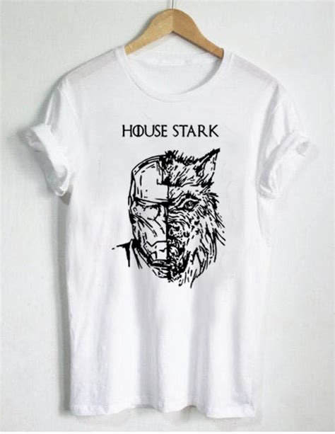 T Shirt Stark Industriesonly Size Smlxl Tees007 house stark t shirt size s m l xl 2xl 3xl