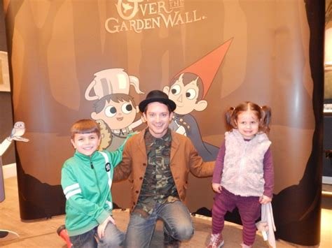 elijah wood over the garden wall cartoon network over the garden wall con and bex meet