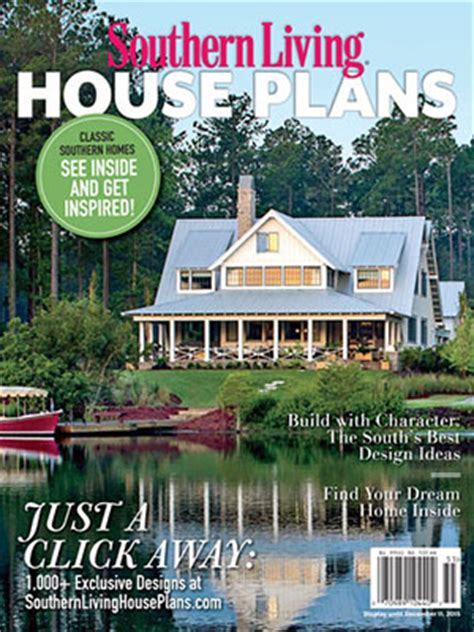 home plan magazines 2015 house plans magazine southern living house plans