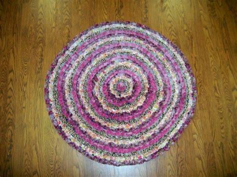 runder teppich lila diy teppiche und fu 223 matten bunt wohnen