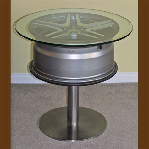 Wheel Table by Wheel As Coffee Table Ideas Requested