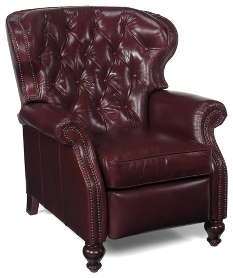 chair wood leather  nailhead trim traditional armchairs  accent chairs  euroluxhome