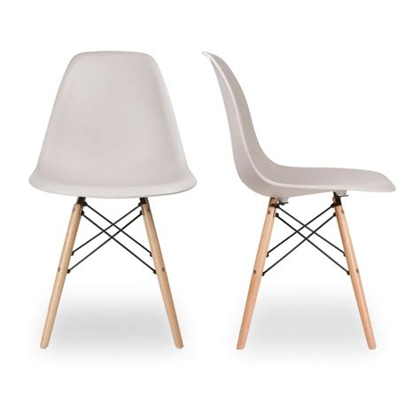Charles And Eames by Charles Eames X 2 Dsw Chair Limited Edition Dsw