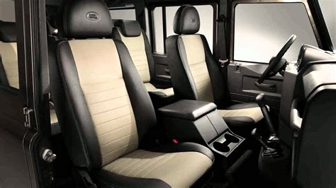land rover defender 4 door interior 2015 land rover defender youtube
