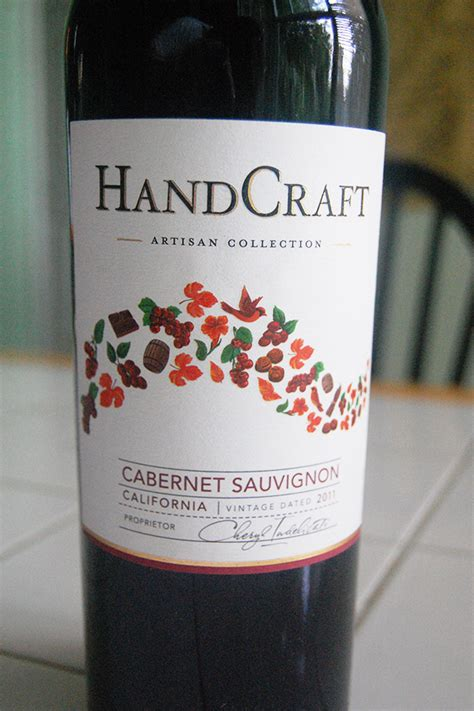 Handcraft Cabernet Sauvignon - benito s wine reviews 2011 handcraft cabernet sauvignon