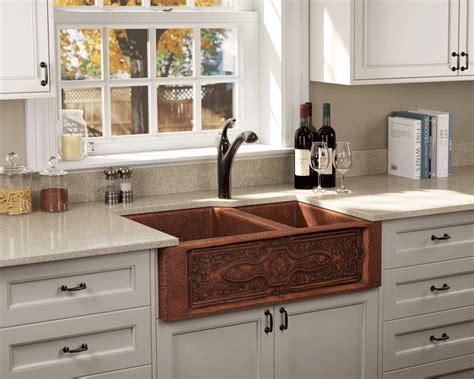 bowl apron sink 911 offset bowl copper apron sink