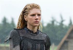 vikings hairstyles customes exclusive clip lagertha sticks up for her ex on vikings