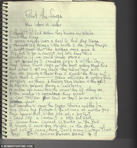 Note Book Coldplay By Bunka Book unreleased tupac shakur written notes and