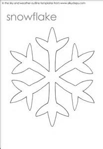 snowflake outline template snowflake outline template