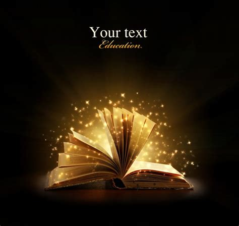 fly magic in your books 高清魔法书本图片素材 创意图片 高清图片 素彩网