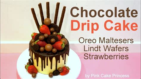 maltesers valentines s day chocolate drip cake how to with oreos