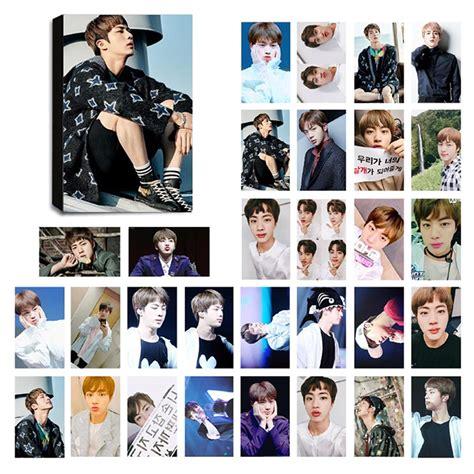 Photo Card Member Bts bts jin ver 3 lomo photocard set kpop mall usa