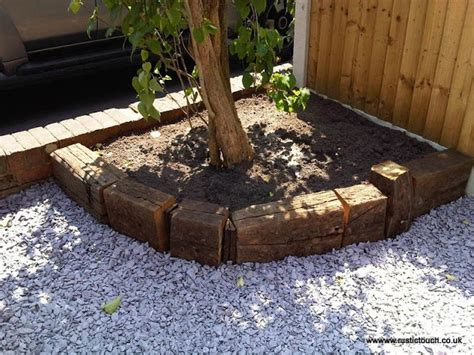 17 best ideas about reclaimed railway sleepers on