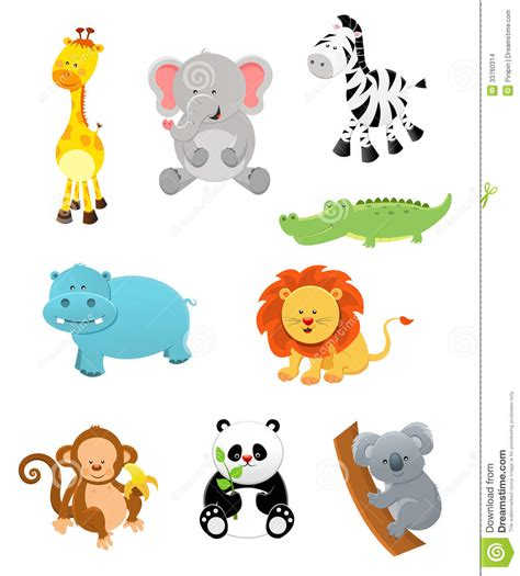 printable animal graphics baby animal clipart animated pencil and in color baby